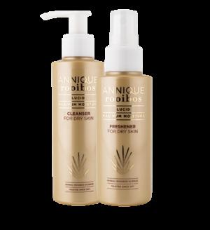 Lucid Cleanser, Lucid Freshener, Lucid for Dry Skin,